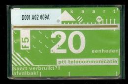 RRRRR * NEDERLAND 1986 1e SERIE * FIRST ISSUE * D001 A02 609A * ONGEBRUIKT * UNUSED * INUTILISÉ * CAT VALUE 100,00 - Nederland