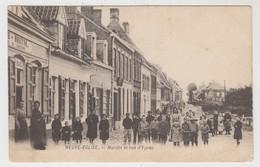 Neuve-Eglise  Nieuwkerke  Heuvelland  Marché Et Rue D'Ypres - Heuvelland