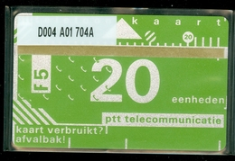 NEDERLAND 1987 2e SERIE *  D004 A01 704A * ONGEBRUIKT * UNUSED * INUTILISÉ * CAT VALUE 50,00 - Nederland