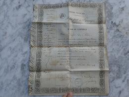 8 MAI 1854. PASSEPORT À L'ETRANGER. POUR LONDRES - Oude Documenten