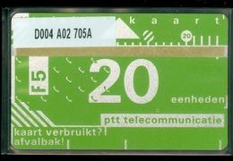 NEDERLAND 1987 2e SERIE *  D004 A02 705A * ONGEBRUIKT * UNUSED * INUTILISÉ * CAT VALUE 50,00 - Nederland