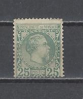 MONACO.  YT  N° 6  Neuf *  1885 - Monaco