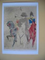 Napoléon Bonaparte, Tableau, Henri DeToulouse-Lautrec   Napoléon 1er à Cheval 1895 - Historische Persönlichkeiten