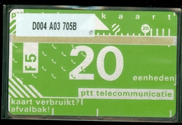 NEDERLAND 1987 2e SERIE *  D004 A03 705B * ONGEBRUIKT * UNUSED * INUTILISÉ * CAT VALUE 50,00 - Nederland