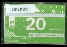RRRRR * NEDERLAND 1987 2e SERIE *  D004 A04 802B * ONGEBRUIKT * UNUSED * INUTILISÉ * CAT VALUE 250,00 - Nederland