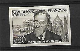 France N° 1242**non Dentelé.Cote 30€ - Imperforates