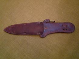 étui Dague Couteau Ancien A Identifier - Knives/Swords