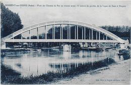 Pont Du Chemin De Fer En Ciment Armé - Nogent-sur-Seine