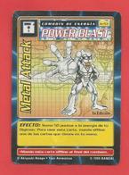TRADING CARDS, CARTE :Digital Monters Power Blast, Métal Attack    X2 Photos - Trading Cards