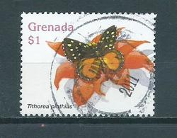 Grenada $1 Vlinder,butterfly,schmetterlinge Used/gebruikt/oblitere - Grenada (1974-...)