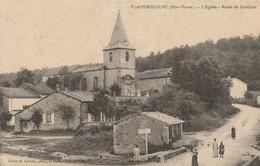 CPA-52-FLAMERECOURT-L'église-Route De Donjeux - Autres Communes