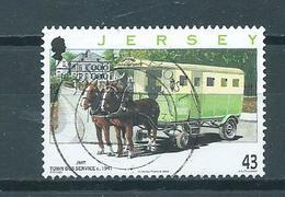 2008 Jersey 43p. Omnibus Used/gebruikt/oblitere - Jersey