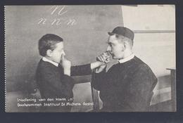 DOOFSTOMMEN INSTITUUT ST. MICHIELS GESTEL ( BERLAAR LIER ? ) INOEFENING VAN DEN KLANK N - Berlaar