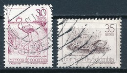 °°° COLOMBIA - Y&T N°766/73 PA - 1987 °°° - Colombia