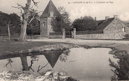 """Langon (35) - L'arrivée Au Manoir Du """"Faô"""". - Autres Communes"""
