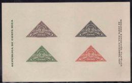 Costa Rica 1937 Mi#Block 1 Mint Never Hinged - Costa Rica