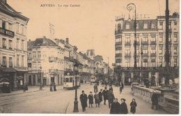 Carnotstraat Met Tram 3 En Cafees En Hotel  ???? - Antwerpen