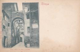 CP Italie Toscana Siena Via Della Galluzza - Siena