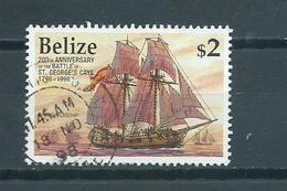 1998 Belize Ship,boat $2 Used/gebruikt/oblitere - Belize (1973-...)