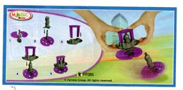 BPZ147 France Ref : FF085 Série Toupies / Violette - Handleidingen