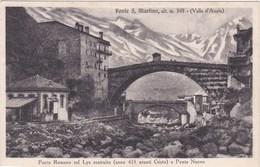 CP Italie Val D'Aosta Ponte S Martino Romano Sul Lys Ponto Nuovo - Italy