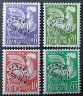 R1615/1539 - 1960 - TYPE COQ GAULOIS - PREO - SERIE COMPLETE - N°119 à 122 NEUFS** - 1953-1960