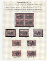 Congo - 50c Bilingue 1915 - COB 69 - 3 XX + 4 X  + 4 Obl - Nances / Shades - Perf 14 Et 15 -cote 140 Euros  - KX2 - Belgisch-Kongo