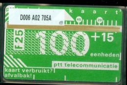 NEDERLAND 1987 2e SERIE * D006 A02 705A * ONGEBRUIKT * UNUSED * INUTILISÉ * CAT VALUE 1.000,00 - Nederland