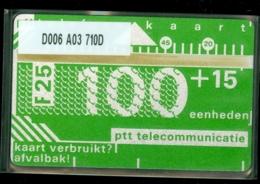 NEDERLAND 1987 2e SERIE * D006 A03 710D * ONGEBRUIKT * UNUSED * INUTILISÉ * CAT VALUE 1.000,00 - Nederland