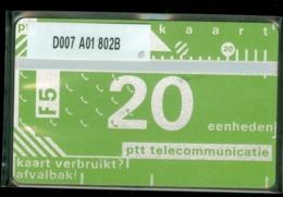 NEDERLAND 1988 3e SERIE * D007 A01 802B * ONGEBRUIKT * UNUSED * INUTILISÉ * CAT VALUE 50,00 - Nederland