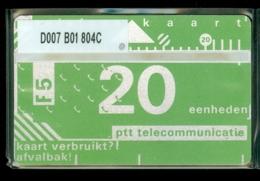 NEDERLAND 1988 3e SERIE * D007 B01 804C * ONGEBRUIKT * UNUSED * INUTILISÉ * CAT VALUE 50,00 - Nederland