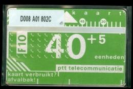 NEDERLAND 1988 3e SERIE * D008 A01 802C * ONGEBRUIKT * UNUSED * INUTILISÉ * CAT VALUE 2000,00 - Nederland