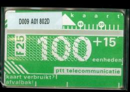 NEDERLAND 1988 3e SERIE * D009 A01 802D * ONGEBRUIKT * UNUSED * INUTILISÉ * CAT VALUE 2450,00 - Nederland