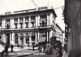TREVISO - PIAZZA S.MICHELE - BAR CON INSEGNA PUBBLICITARIA BIRRA PERONI - FIAT TOPOLINO - 1956 - Treviso
