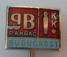 BOWLING - Bowling Club BUDUCNOST, Pakrac Croatia  PINS BADGES P2 - Bowling