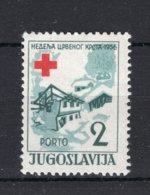 JOEGOSLAVIE Yt. B27° Gestempeld 1956 - Charity Issues
