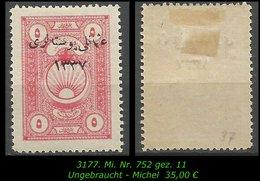 TURKEY ,EARLY OTTOMAN SPECIALIZED FOR SPECIALIST, SEE.. Mi. Nr. 752 - - 1920-21 Anatolia