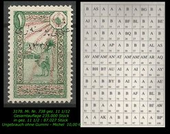 TURKEY ,EARLY OTTOMAN SPECIALIZED FOR SPECIALIST, SEE.. Mi. Nr. 738 - - 1920-21 Anatolië