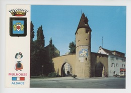 Mulhouse : La Tour Du Bollwerk, Vestige Anciennes Fortifications - Mulhouse