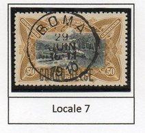 Congo - Cob 35L - Locale L7 -  Rare Nuance JAUNE OLIVE / Shade Yellow Olive - RRR - KX2 - Belgisch-Kongo