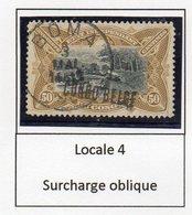 Congo - Cob 35L - Locale L4 OBLIQUE -BOMA -   Rare Nuance JAUNE OLIVE / Shade Yellow Olive - RRR - KX2 - Belgisch-Kongo