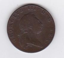 1 PENNY - GEORGES III BERMUDA 1793 - Bermuda