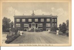 Maison Des Retraites Fermées, Mont-Joli, Publ. H.V. Henderson, PECO (10422) - Quebec