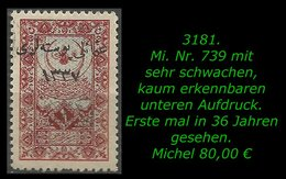 TURKEY ,EARLY OTTOMAN SPECIALIZED FOR SPECIALIST, SEE.. Mi. Nr. 739 - 1920-21 Anatolië