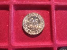GUINEA EQUATORIALE 25 Francs 1985 - Guinea Equatoriale