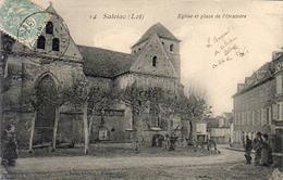 D46  SALVIAC  Église Et Place De L'Oratoire - Salviac