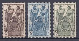 Cote Des Somalis Y&T  N ° 155    156    157    NEUF** - Französich-Somaliküste (1894-1967)
