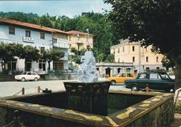 PIANDELAGOTTI - FRASSINORO - MODENA - AUTO - PIAZZA - BAR CON INSEGNA PUBBLICITARIA BIRRA WUHRER - 1972 - Modena