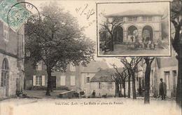 D46  SALVIAC  La Halle Et Place Du Foirail - Salviac