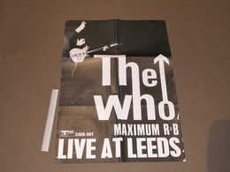THE WHO - LIVE AT LEEDS - COPIE AFFICHE - Affiches